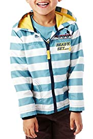 Hooded Thomas & Friends� Striped Mac [T88-9067C-Z]