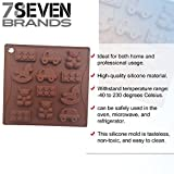 78Seven Silicone Molds LARGE Horse, Car, Block, Bear SILICONE Mold Tray. SUPER VALUE. Get It NOW!