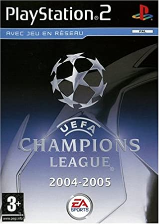 UEFA Champions League 2004 2005 - Playstation 2 - PAL