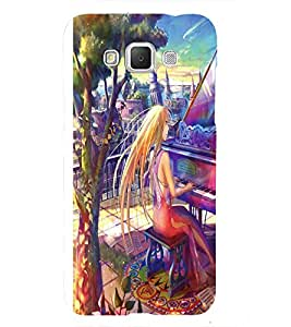 Angel playing piano Back Case Cover for Samsung Galaxy Grand Neo Plus::Samsung Galaxy Grand Neo Plus i9060i