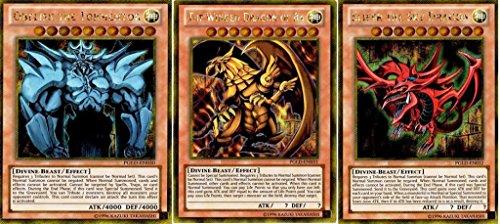 YuGiOh-Premium-Gold-Set-of-all-3-God-Single-Cards-Obelisk-Ra-Slifer-PGLD-EN030-EN031-EN032-Unlimited-Edition