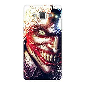 Stylish Crazy Insanity Multicolor Back Case Cover for Galaxy Grand 3