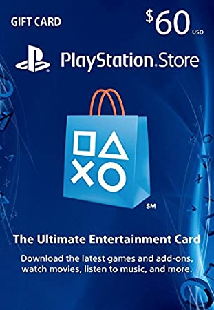 $60 PlayStation Store Gift Card - PS4 / PS3 / PS Vita [Digital Code]