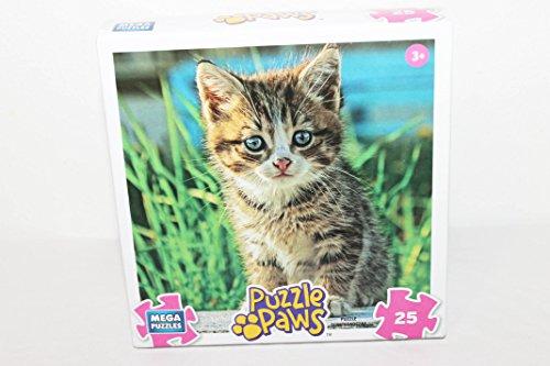 Mega Puzzles Puzzle Paws Little Kitten 25 Piece Jigsaw Puzzle - 1
