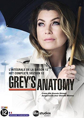 Coffrey grey's anatomy, saison 12 [Edizione: Francia]