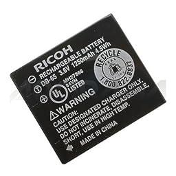 Ricoh DB-65 Li-Ion Battery for WG-M1 (Black)