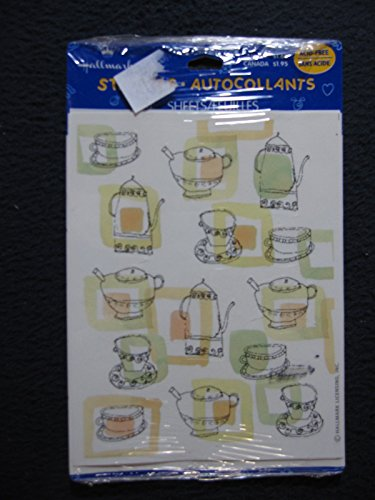 Hallmark Stickers: Teapots and Cups (Teapot Stickers compare prices)