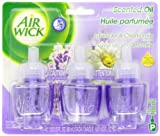 Air Wick Scented Oil Air Freshener, Lavender and Chamomile, 3 Refills, 0.67 Ounce