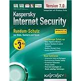 "Kaspersky Internet Security 7.0 3 Lizenzen Update (DVD-Verpackung)von ""Kaspersky Labs"""