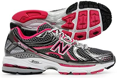NB 760 B Stability Running Shoes Black/Silver/Rose - size 7.5