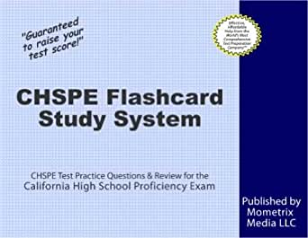 CHSPE Secrets Study Guide: CHSPE Test Review for the ...