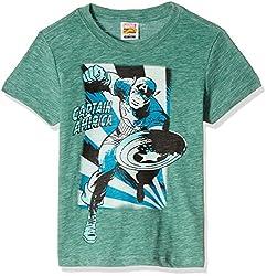 Fox Boys' T-Shirt  (Light Grey Melange_16 years_337404)