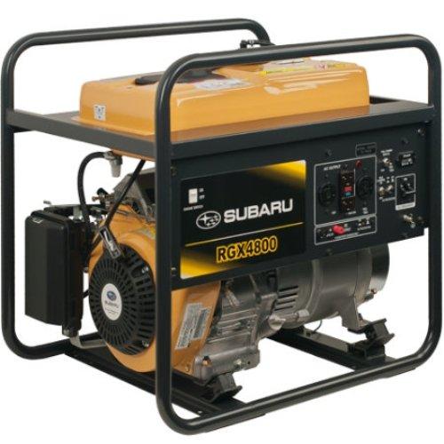 Subaru Rgx4800 Industrial Generator, 4800-Watt
