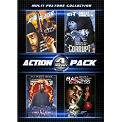 4 Film Action Pack