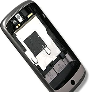 Original Genuine OEM HTC Google NexUS One Housing Faceplate Fascia Plate Panel Cover Case+Middle Chassis+Battery Back Door Repair Replace Replacement