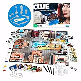 Clue boardgame!