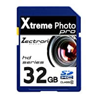 Zectron Pro Memory Card for Canon PowerShot A2500 32GB Class 10 High Speed SDHC card by Zectron Digital