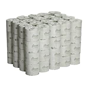"""Georgia-Pacific Envision 19880/01 White 2-Ply Embossed Bathroom Tissue, 4.05"""" Length x 4"""" Width (Case of 80 Rolls)"""