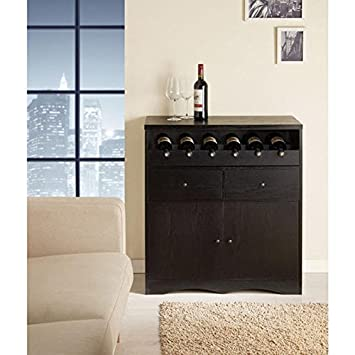 Pleena Buffet with Wine Storage