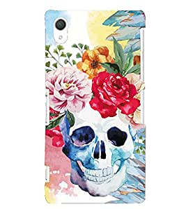 Kingcase Printed Back Case Cover For Sony Xperia Z3 - Multicolor