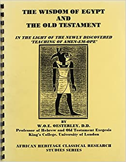 African history in the old testament