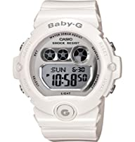 Casio Women's BG6900-7 Baby-G White Resin Large Digital Sport Watch