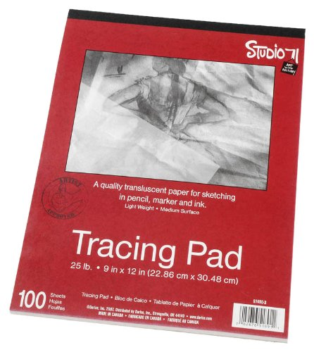 Darice 9-Inch-by-12-Inch Tracing Paper, 100-Sheets (Tracing Sheets compare prices)