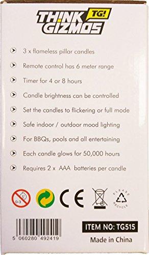 Kerzen-mit-Fernbedienung-3er-Pack-Fantastische-Kerzen-ohne-Flamme-mit-Fernbedienung-Timer-Funktion