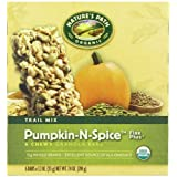 Nature's Path Organic Granola Bars, Pumpkin-n-Spice, Flax Plus, 1.2 Ounce, 6-Count Boxes (Pack Of 6)