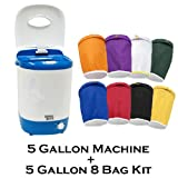 5 Gallon Bubble Magic Washing Machine + Ice Hash Extraction 8 Bags KitGRO1