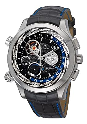 Zenith Class Traveller Open Multicity Men's Automatic Watch 03-0520-4046-22-C681