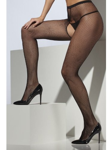 Fishnet Tights Fancy Dress Woman Costume