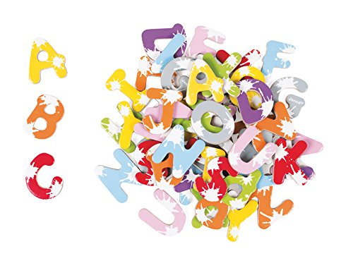 "Janod - Maletin de 52 letras ""Splash"" (J09612)"