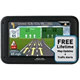"Magellan RoadMate 5230T 5"" Touchscreen GPS Navigation & Lifetime Maps/Traffic (Certified Refurbished)"