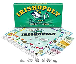 Late For The Sky University Of Notre Dame Monopoly