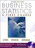 Business statistics:a first course