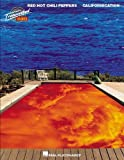Various RED HOT CHILI PEPPERS CALIFORNICATION (TRANSCRIBED SCORES) BAND