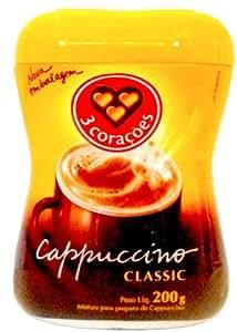 Amazon.com : 3 Corazones Brazilian Capuccino Classic Ground Coffee Pot