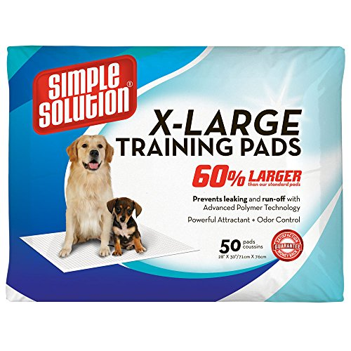 Simple Solution Training Pads, 50 Pads, Extra Large