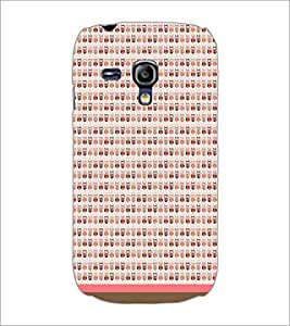 PrintDhaba Owl Pattern D-1704 Back Case Cover for SAMSUNG GALAXY S3 MINI (Multi-Coloured)