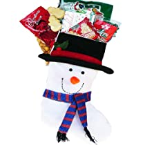 Snowman Stocking Stuffer Christmas Holiday Gift Basket
