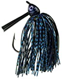 Strike King Denny Brauer's Premier Pro-Model Jig Bait (Black Blue, 0.5-Ounce)