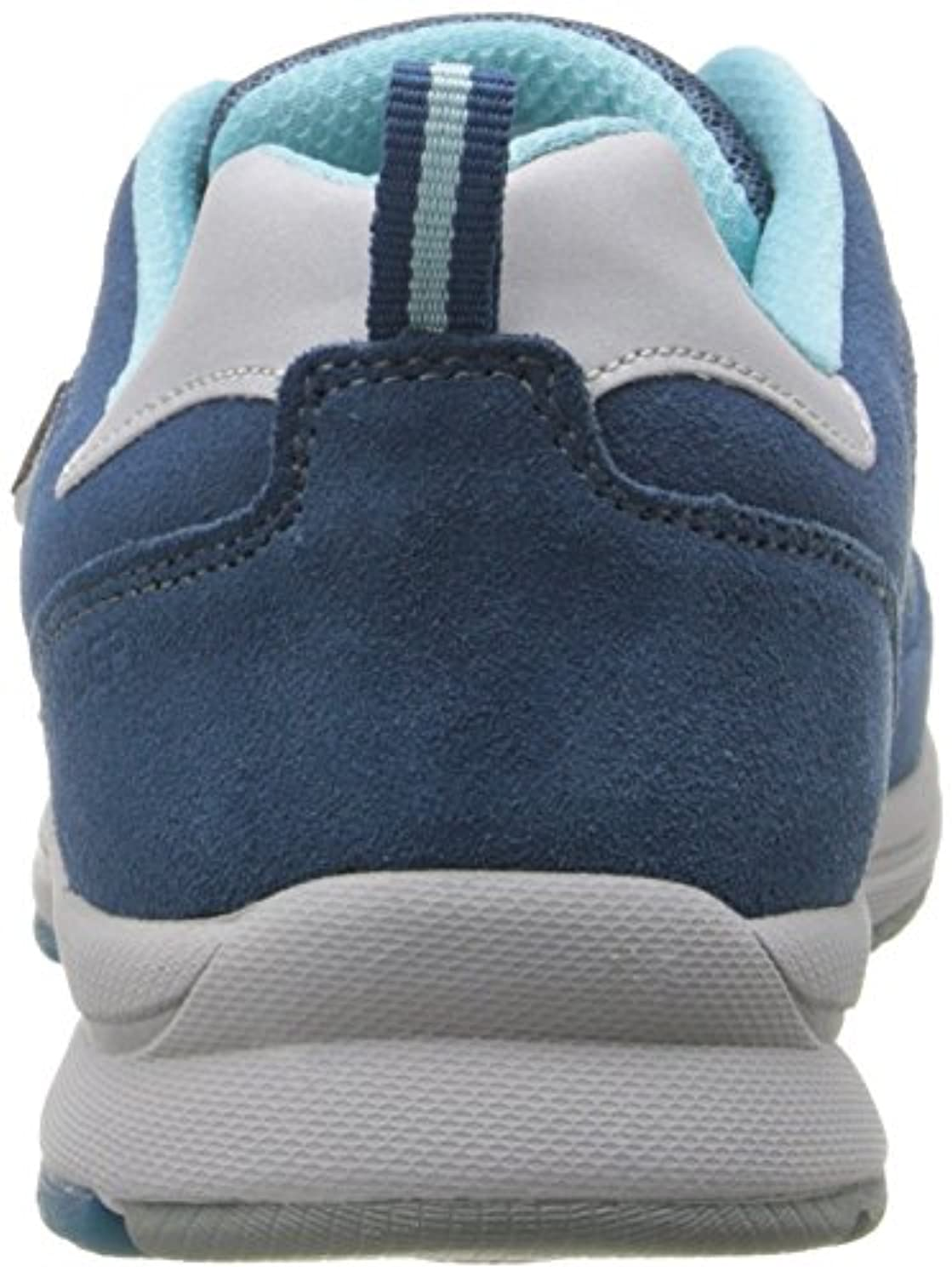 ALLROUNDER by MEPHISTO Women's Darga Oxford, Blue Suede/Mesh, 7.5 M US