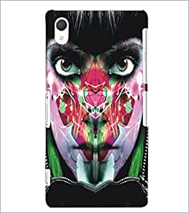 PrintDhaba Bright Eyes D-5450 Back Case Cover for SONY XPERIA Z3 (Multi-Coloured)