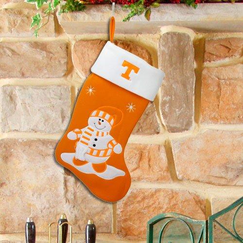 Ncaa Snowman Felt Stocking Ncaa Team: Tennessee front-77191
