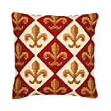 Vervaco Geometric Design 2 Cross Stitch Cushion Multi Colour