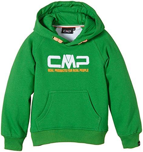 CMP - F.lli Campagnolo, Felpa Bambino, Verde (Irish), 128 cm