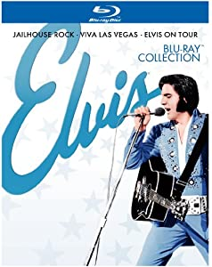 Elvis Collection (Jailhouse Rock / Viva Las Vegas / Elvis on Tour) [Blu-ray]