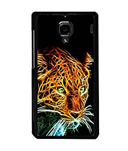 printtech Tiger Back Case Cover for Xiaomi Redmi 1S::Xiaomi Redmi (1st Gen)