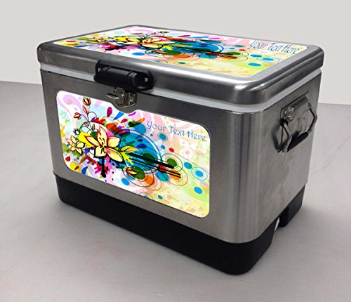 Vintage Ice Chest Cooler front-39100